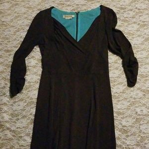 Kay Unger long sleeve dress